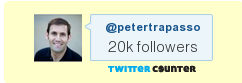 20000 Twitter REAL Followers PeterTrapasso.com