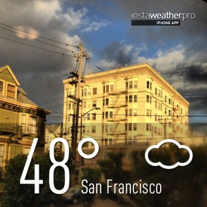 Insta Weather Pro Photo Dec 12, 2012 San Francisco