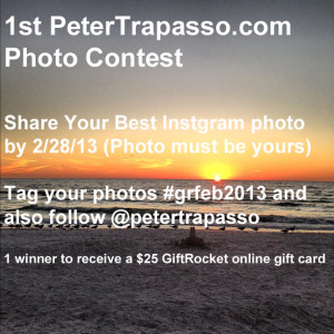 Entry for 1st PeterTrapasso.com Photo Contest