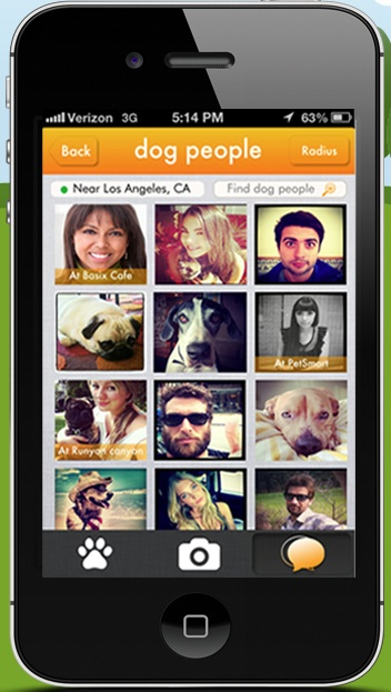 Social Media network for dog owners-  Where My Dogs At