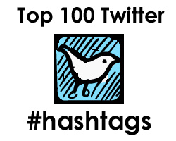 Top 100 Twitter hashtags February 2014
