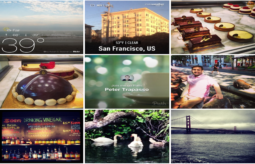 Top 25 Instagram hashtags April 2014