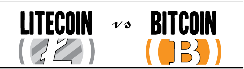 Litecoin v Bitcoin Top two cryptocurrencies compared [INFOGRAPHIC] screnshot